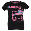 Girls` Scoop-Neck Trainging Tee Black by HELLO KITTY