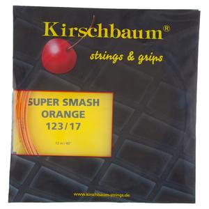 KIRSCHBAUM SUPER SMASH 17G/123 TENNIS STRING ORANGE