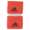 ADIDAS Small Tennis Wristband Solar Red and Maroon