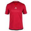Men`s Barricade Climachill Tennis Tee Chill Power Red Melange by ADIDAS