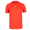 ADIDAS Men`s Barricade Tennis Tee Solar Red