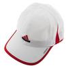 ADIDAS Men`s Adizero II Tennis Cap White and Scarlet