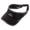 ADIDAS Men`s Adizero II Tennis Visor Black and Gray