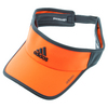 ADIDAS Men`s Adizero II Tennis Visor Solar Orange and Dark Gray