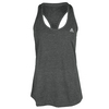 ADIDAS Women`s Climacool Aeroknit Tennis Tank Black Heather