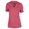 ADIDAS Women`s Climacool Aeroknit Tennis Tee Super Pink Heather