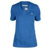 ADIDAS Women`s Climacool Aeroknit Tennis Tee Bold Blue Heather