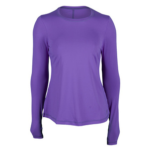 Women`s Power Play Crewneck Long Sleeve Tennis Top Force