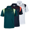 Men`s Short Sleeve Ultra Dry Mesh Detail Tennis Polo by LACOSTE