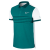 NIKE Men`s Advantage Premier Roger Federer Tennis Polo Radiant Emerald