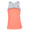 NEW BALANCE Women`s Tournament Racerback Tennis Top White