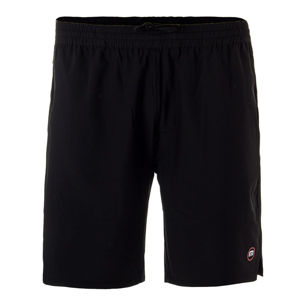 Men's Carl Tennis Short Black