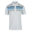 TRAVISMATHEW Mens Sorkness Tennis Polo White