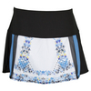 LUCKY IN LOVE Women`s Romantic Rebel Tennis Skort Print