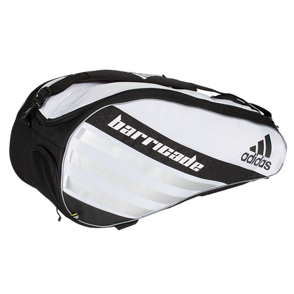 Barricade Iv Tour 6 Pack Tennis Bag White And Black
