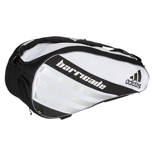 adidas BARRICADE IV TOUR 6 PACK TNS BAG WHT/BLK