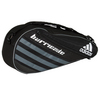 ADIDAS Barricade IV Tour 3 Pack Tennis Bag Black and Dark Silver