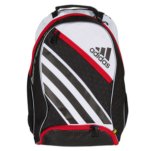 Barricade IV Tennis Backpack White and Black