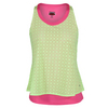 BOLLE Women`s Capri Tennis Tank Citrus and Melon