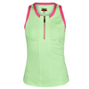 BOLLE Women`s Capri Zipper Tennis Tank Citrus