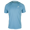 ASICS Men`s Club Short Sleeve Tennis Tee Blue Moon
