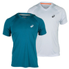 ASICS Men`s Club V-Neck Tennis Tee