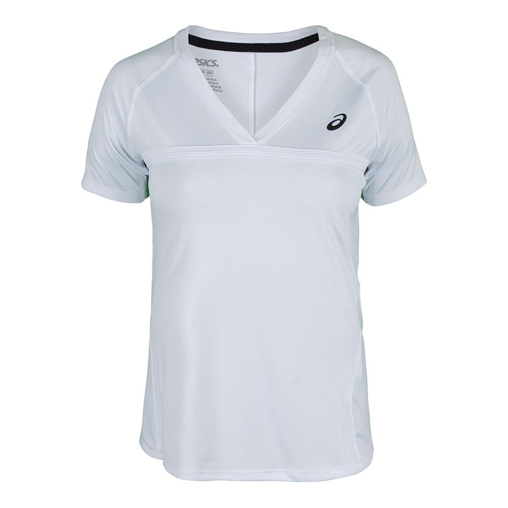 Women's Club V- Neck Tennis Top