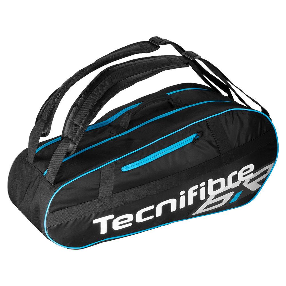 Team Lite 6 Pack Tennis Bag Black And Blue