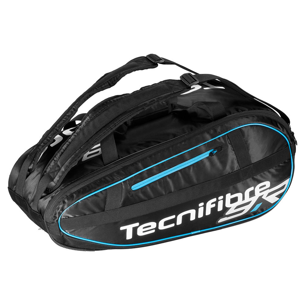 Team Lite 9 Pack Tennis Bag Black And Blue