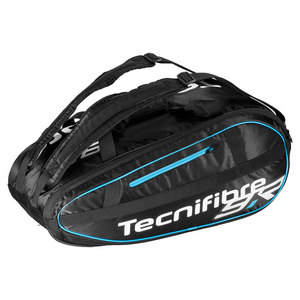 Team Lite 9 Pack Tennis Bag Black and Blue
