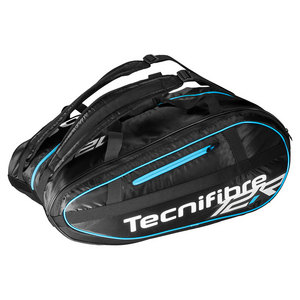 Team Lite 12 Pack Tennis Bag Black and Blue