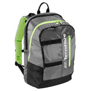 Tour Ergonomy ATP Tennis Backpack Gray and Green
