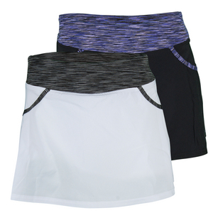 Women`s Pleated Woven Tennis Skort