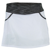 Women`s Pleated Woven Tennis Skort WHITE/FLINT