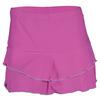 DENISE CRONWALL Women`s Ruffle Tennis Skort Lilac