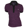 Women`s Space Dyed Pique Tennis Polo Magenta by FRED PERRY