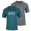 ASICS Men`s Game-Set-Match Tennis Tee