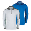 PRINCE Men`s 1/4 Zip Long Sleeve Tennis Jacket