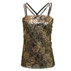 LOTTO Women`s LUX Tennis Tank Metallic Lace Print