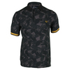 FRED PERRY Men`s Camouflage Pique Tennis Polo Black