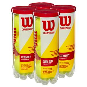 WILSON WILSON CHAMPIONSHIP 4PACK EXTRA DUTY