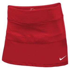 Women`s Power Tennis Skirt Scarlet