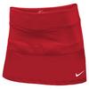 NIKE Women`s Power Tennis Skirt Scarlet