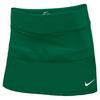 NIKE Women`s Team Court Tennis Skort Dark Green
