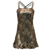 LOTTO Women`s LUX Tennis Dress Metallic Lace Print