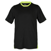 Boys` Pro Crew Neck Tennis Top 001_BLACK
