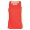 TAIL Women`s Pippi Dot Texture Tennis Tank Blinding Sunset