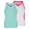 FILA Girls` Diva Full Back Tennis Tank