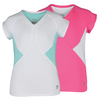 FILA Girls` Diva Cap Sleeve Tennis Top