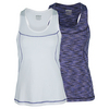 PRINCE Women`s Space Dyed Tennis Tank